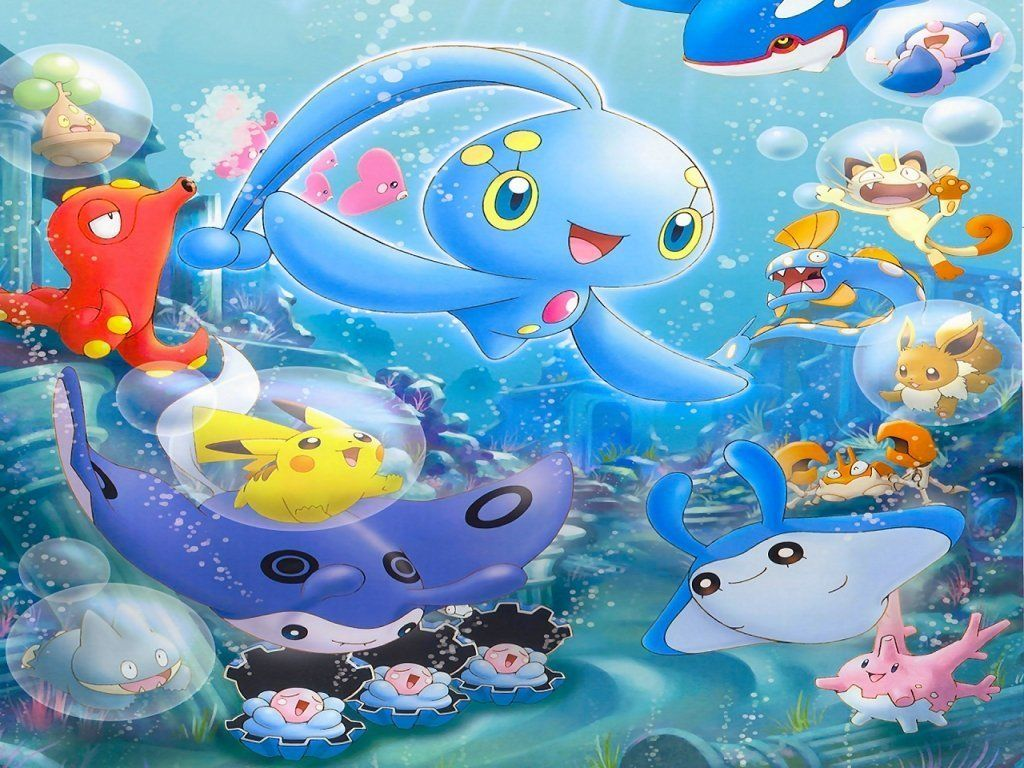 water pokemon club images Manaphy and Friends HD wallpaper and …