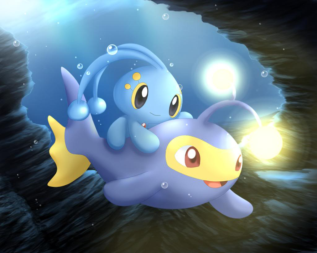 Manaphy and Lanturn | Pokémon | Pinterest | Pokémon