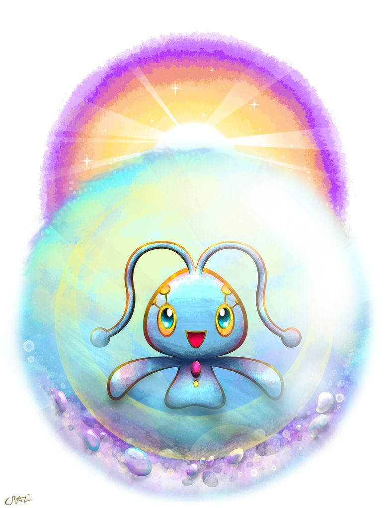 Manaphy by CRAZ1 on DeviantArt