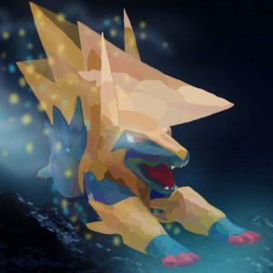 download Wild Mega Manectric by Vanhiko on DeviantArt