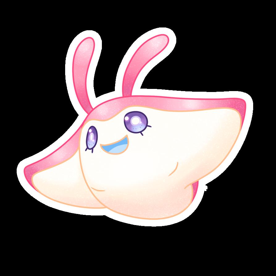 Custom Shiny Mantyke by PastelFruits on DeviantArt
