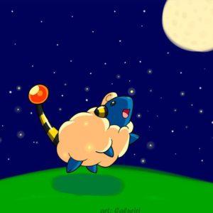 download A Mareep Night by caluriri on DeviantArt