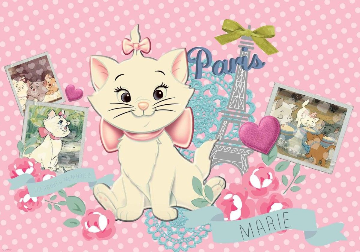 Disney Aristocats Marie Wall Paper Mural | Buy at EuroPosters