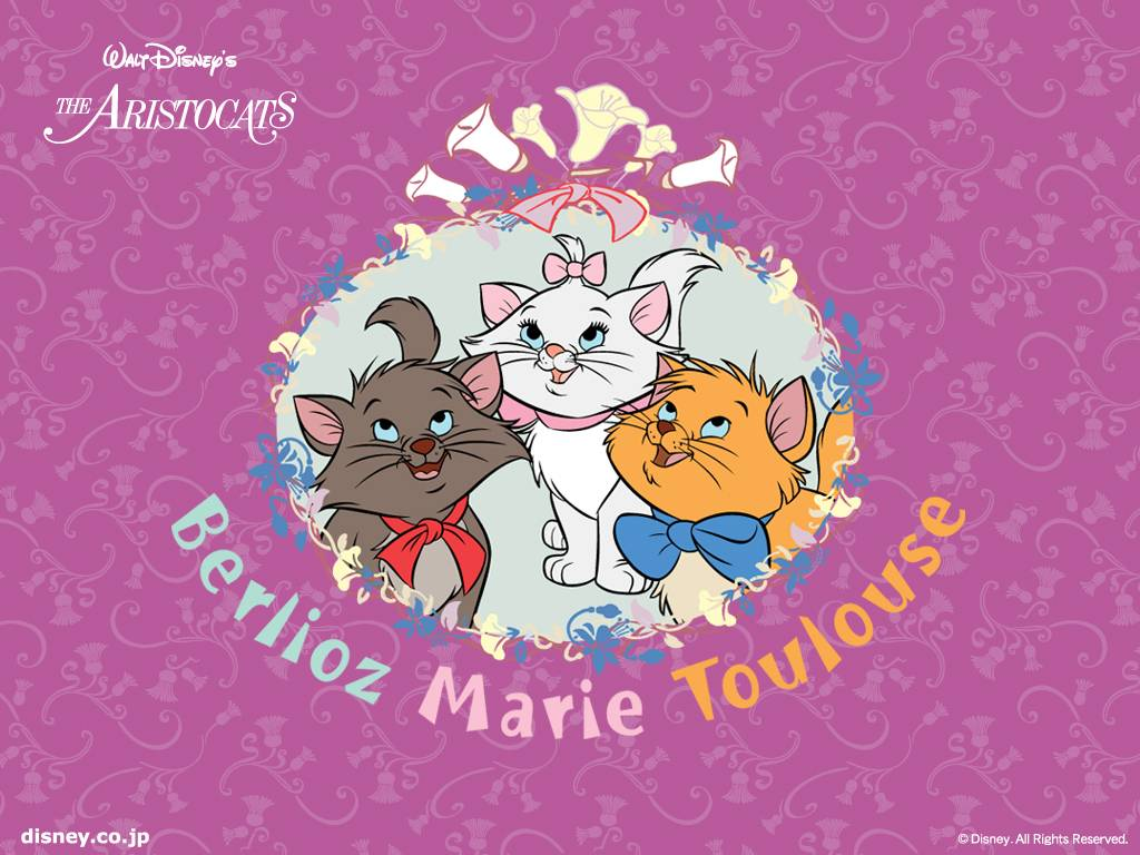 Marie : The Aristocats *~: ♥ Marie Desktop Wallpaper ♥
