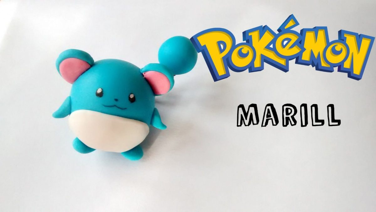 Pokemon☆ Marill Polymer Clay☆ Tutorial Porcelana Fría – YouTube