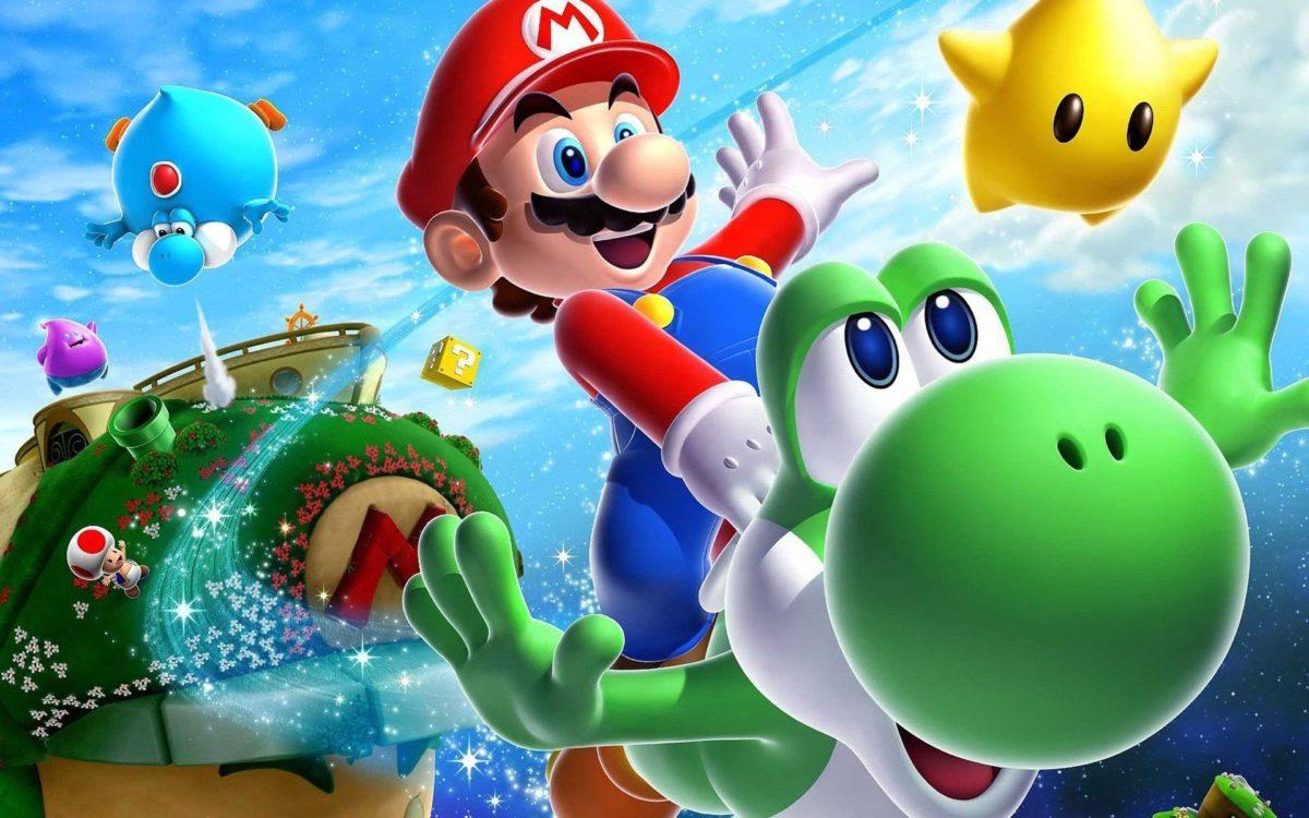 Mario Galaxy Wallpaper 16149 Hd Wallpapers in Games – Telusers.com