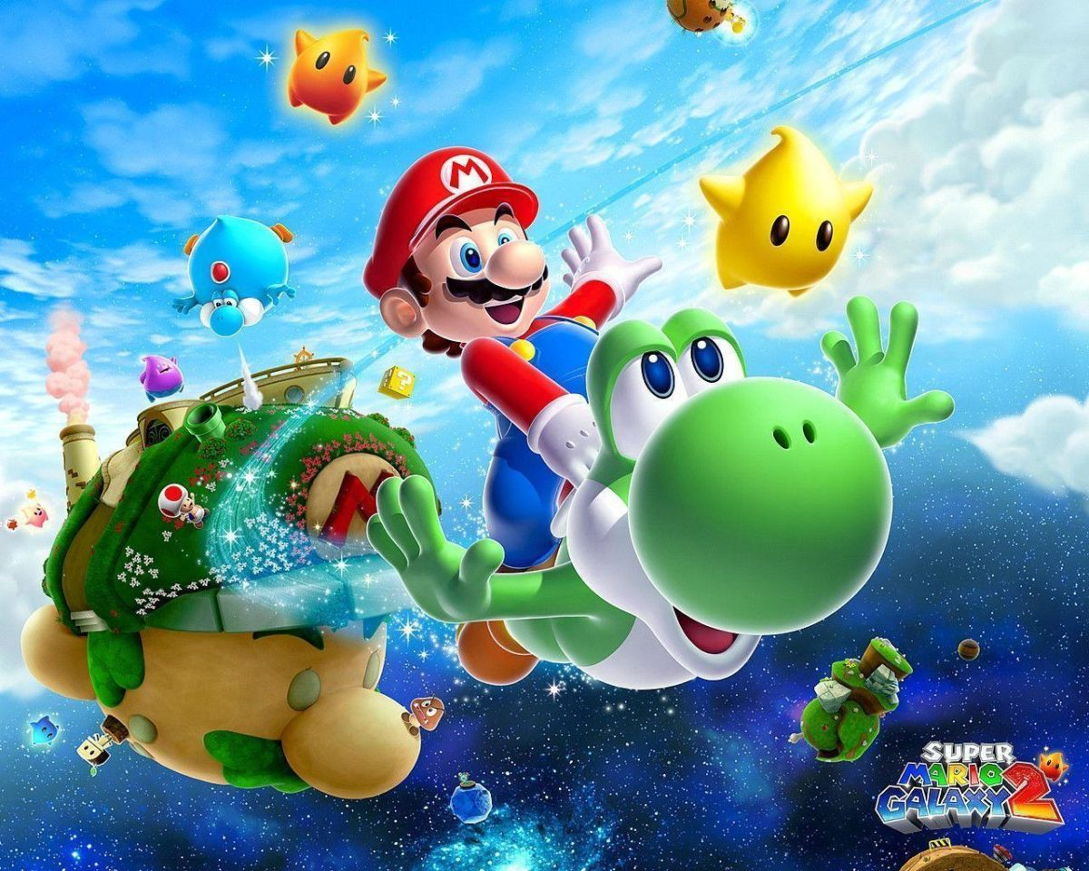 Super Mario Wallpapers and Backgrounds – w8themes