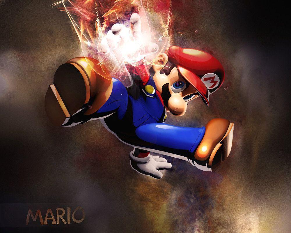 Super Mario Wallpaper by Arsenovicius on DeviantArt