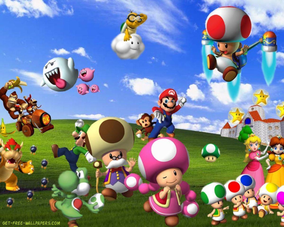 Mario Wallpaper Hd Wallpapers Games 1280x1024PX ~ Wallpaper Mario …