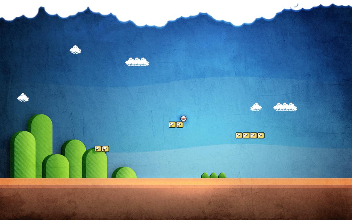 Badass Super Mario desktop wallpapers – Sharenator.
