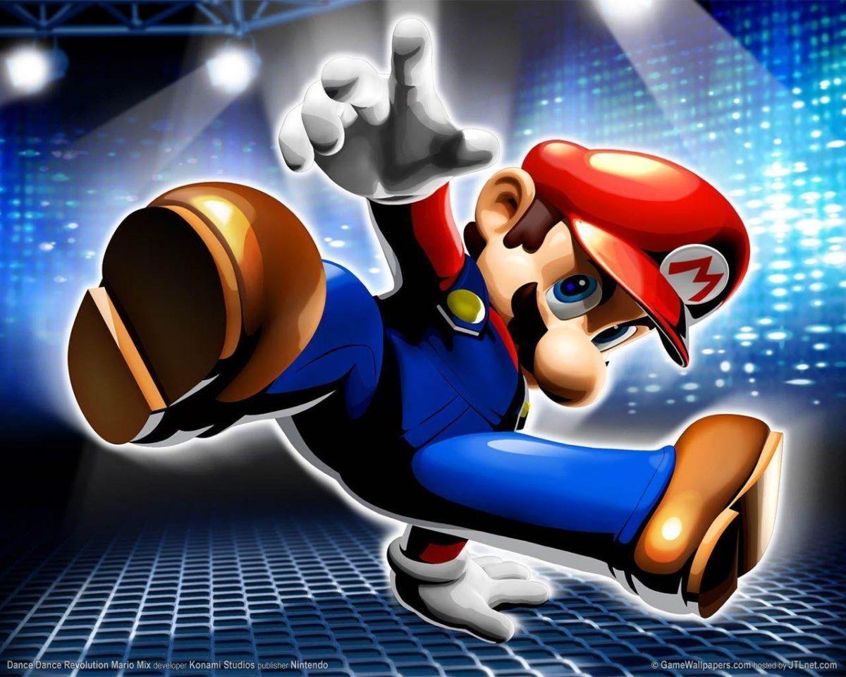 3D Mario wallpaper