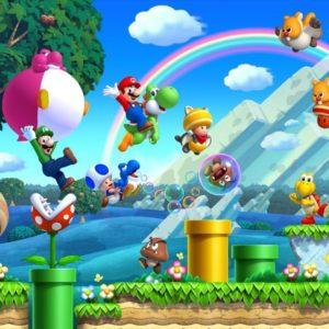 download Super Mario Desktop Wallpaper (Wii U)