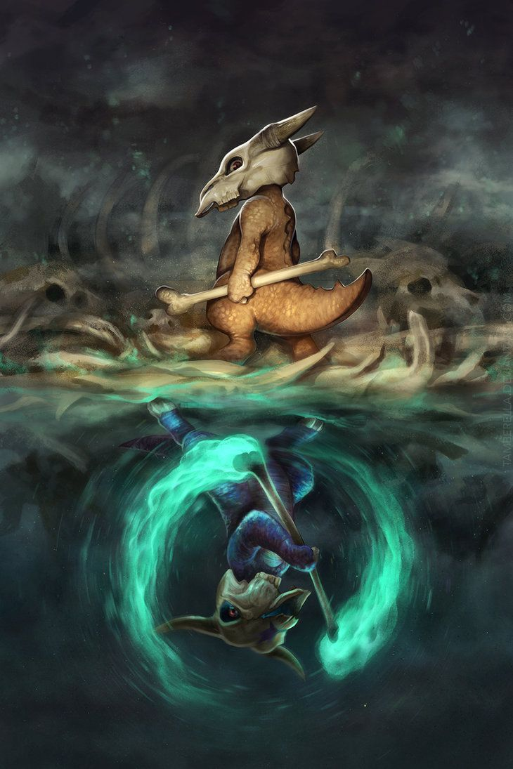 Marowak Mirrored by TamberElla on DeviantArt