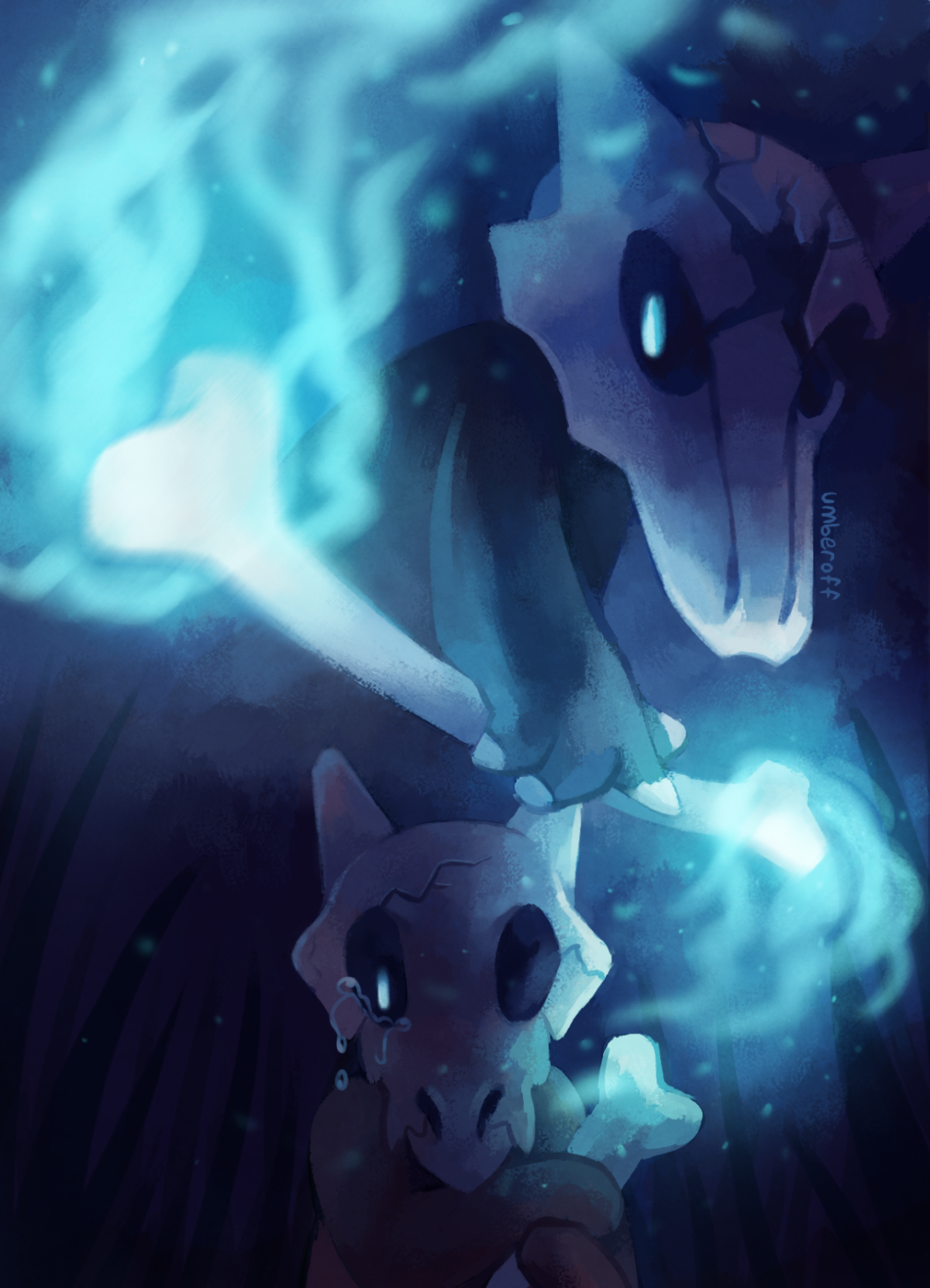 Marowak-Cubone-wallpaper-wp4006807 – live wallpaper HD Desktop …
