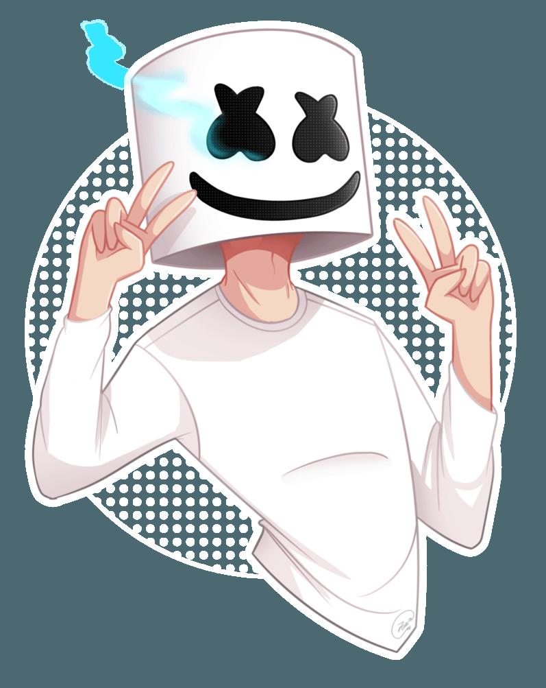 FanArt] – Marshmello by Zandiazz on DeviantArt