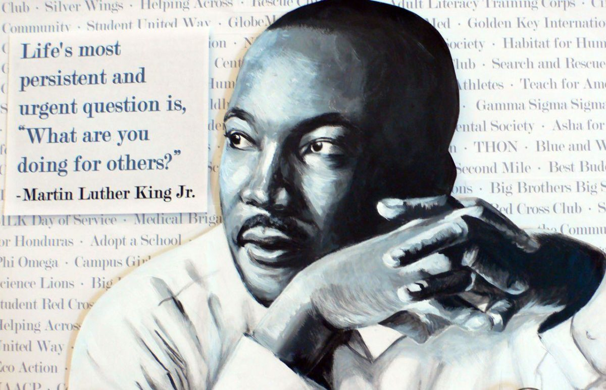 Martin Luther King Jr | Knitting Rays of Hope