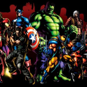download Marvel Heroes Wallpaper Background PC