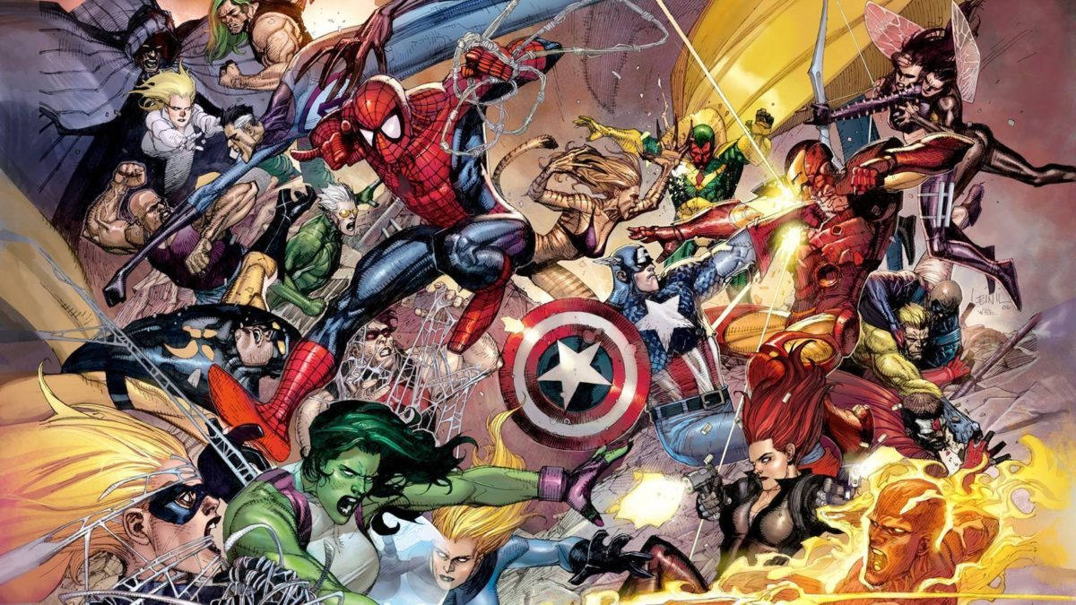 Wallpapers For > Marvel Wallpaper 1920×1080