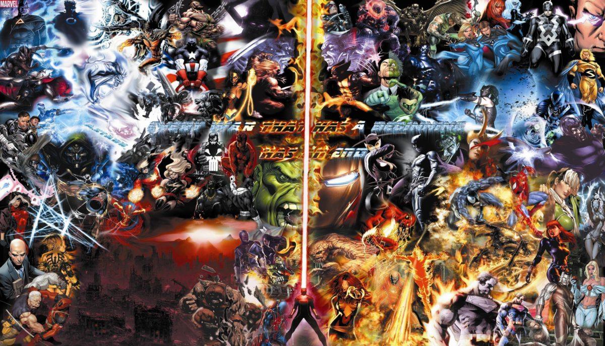 Marvel Comics Caracters Wallpaper HD Dekstop