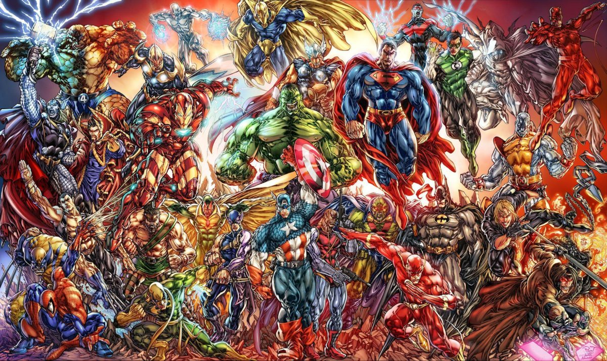 430 Marvel Comics HD Wallpapers | Backgrounds – Wallpaper Abyss