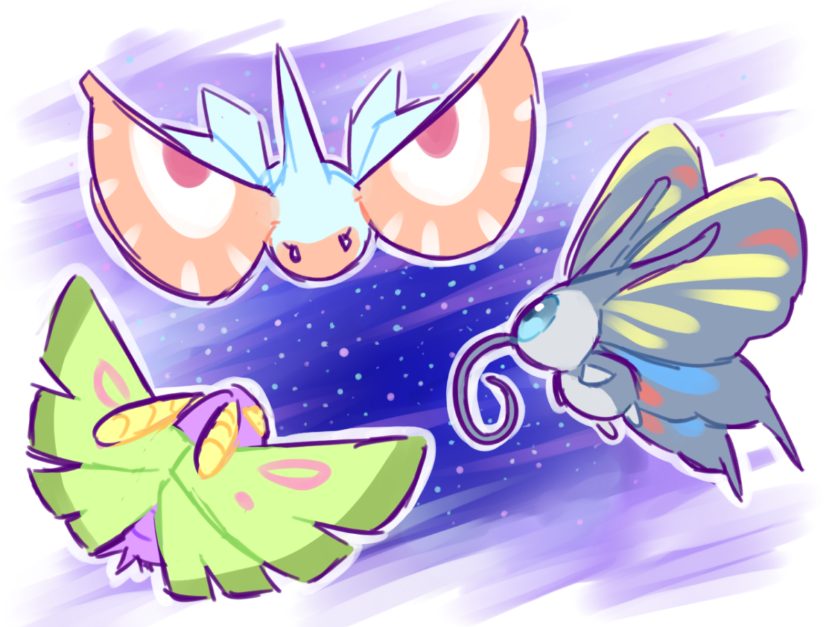 Beautifly, Dustox, & Masquerain!!! | Pokémon | Pinterest | Pokémon …