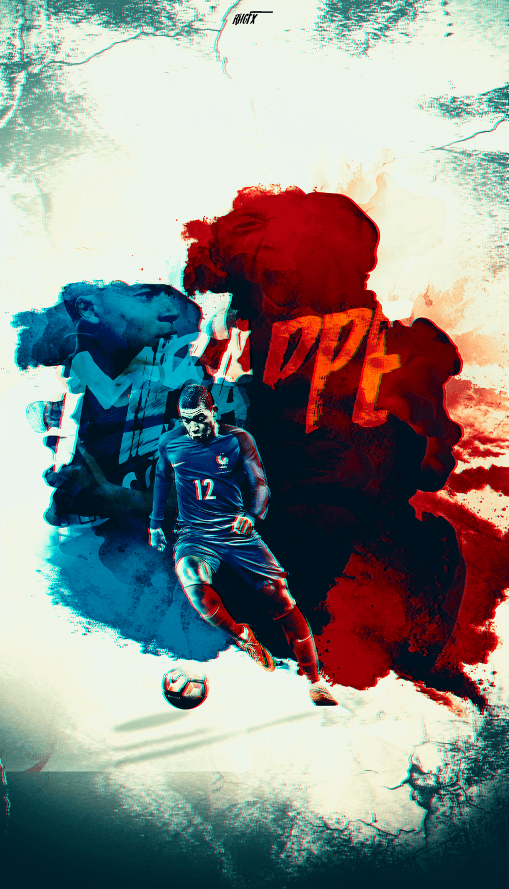 Kylian Mbappe | Wallpaper | 2017 by RHGFX2 on DeviantArt