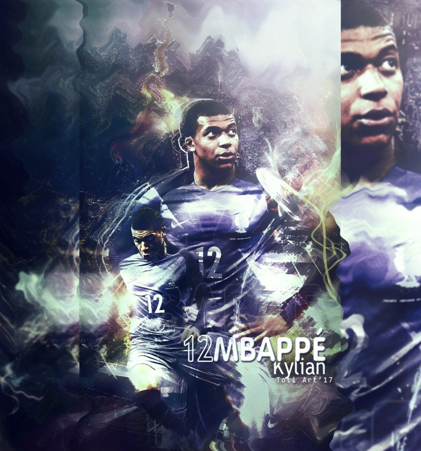 Kylian Mbappe by Toti-Gogeta on DeviantArt