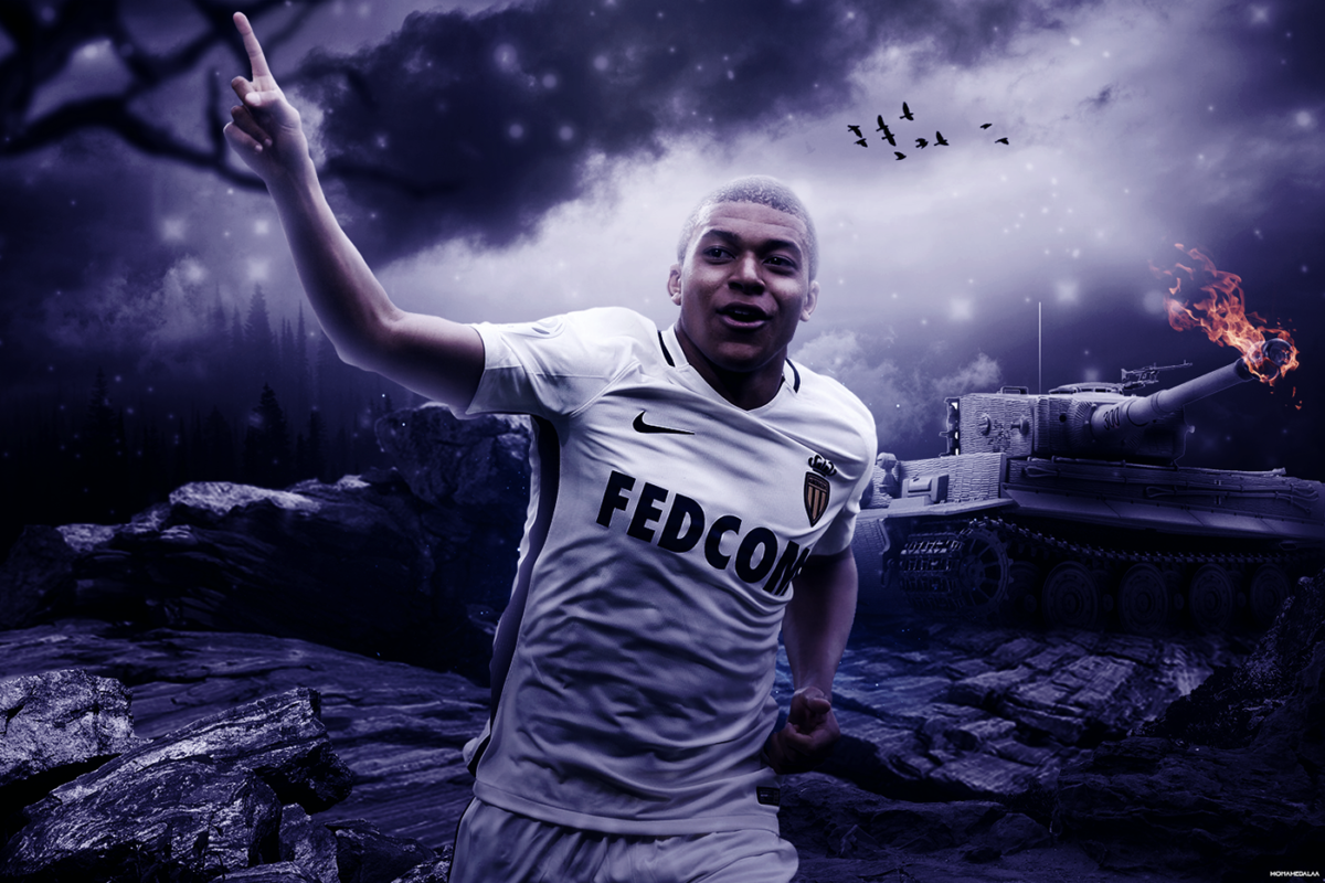 Kylian Mbappe 2016/17 Wallpaper on Behance