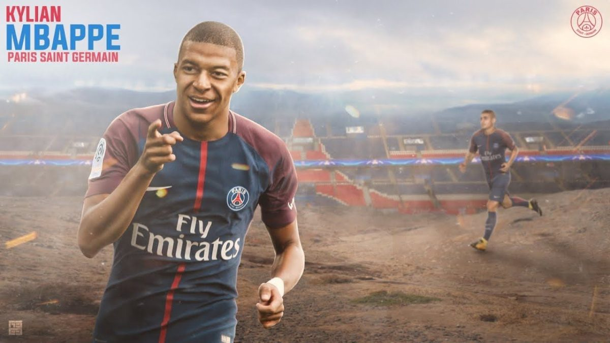 Photoshop Tutorial-Kylian Mbappe 2018 ○ Free PSD FILE ○ GraphicsD …