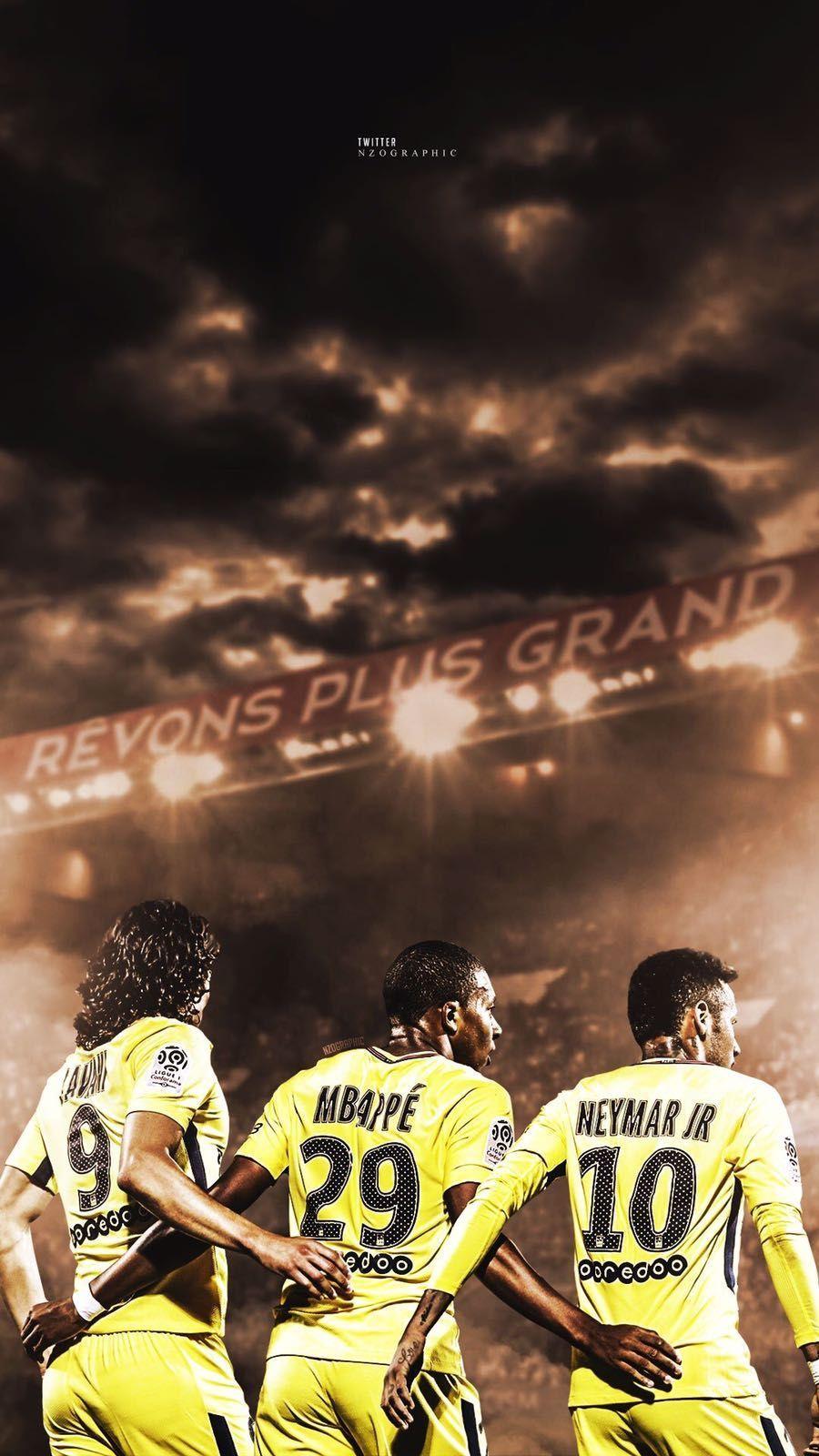 Trio CMN ( Cavani Mbappe Neymar) | Foot | Pinterest | Neymar, Neymar …