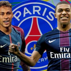 download Mbappe joins forces with Neymar at PSG