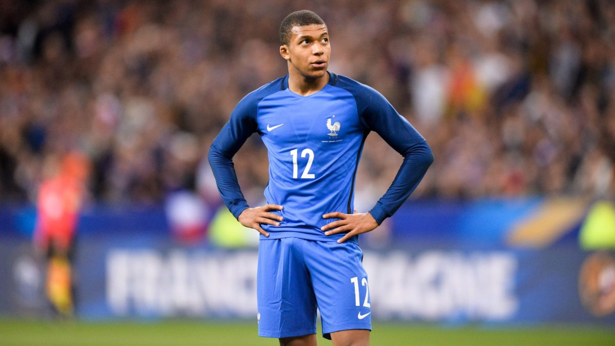 Kylian Mbappé Full HD Wallpaper and Background Image | 3000×1687 …