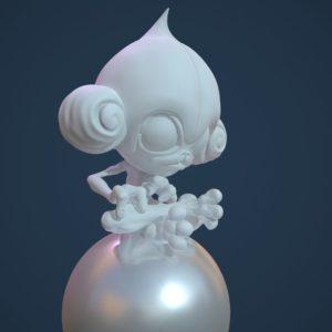download ArtStation – Meditite Sculpt, Brad Kotris