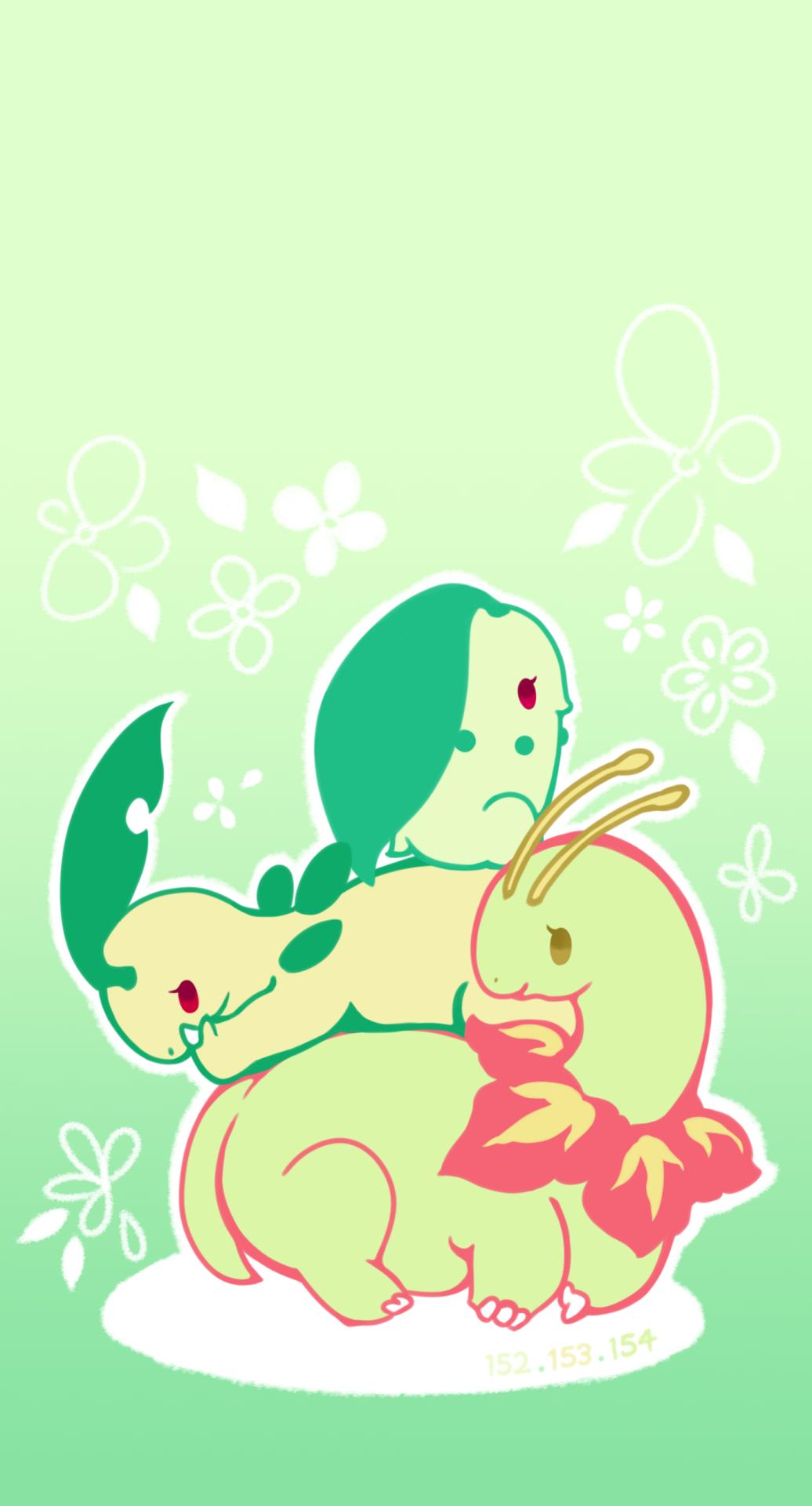 Pin by :// on Meganium! | Pinterest | Pokémon