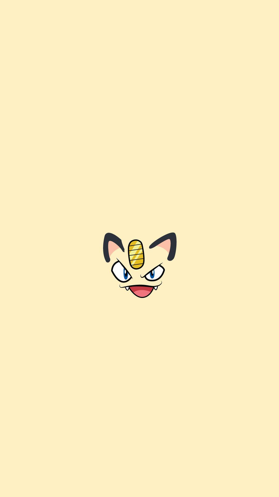 Meowth Pokemon Character iPhone 6+ HD Wallpaper HD – Free Download …