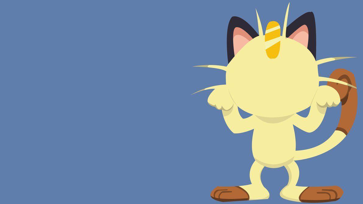 Pokemon Meowth Minimalist by Electro511 on DeviantArt