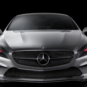 download Mercedes Benz Concept Style Coupe Wallpaper