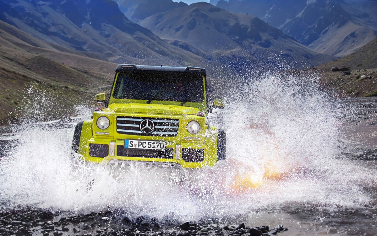 2015 Mercedes Benz G500 4×4 Wallpaper | HD Car Wallpapers