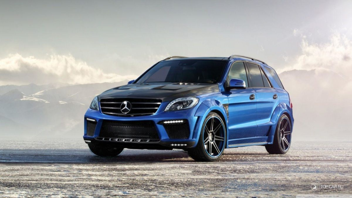 Mercedes Benz ML 63 AMG Inferno HD desktop wallpaper : Widescreen …