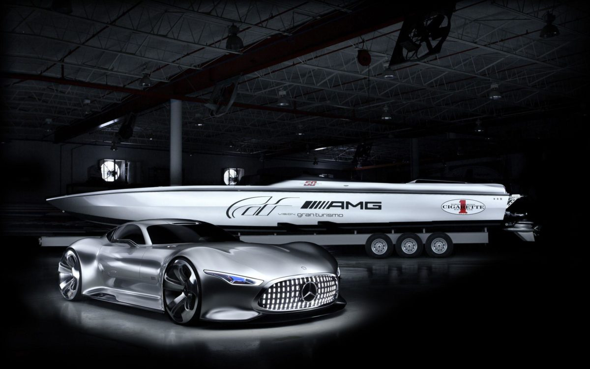 2014 Cigarette Racing Vision GT Mercedes Benz Wallpaper | HD Car …