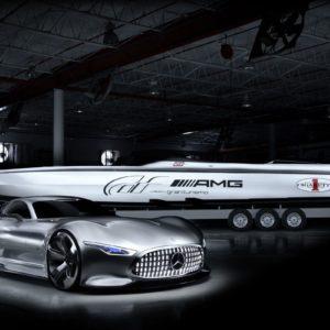 download 2014 Cigarette Racing Vision GT Mercedes Benz Wallpaper | HD Car …
