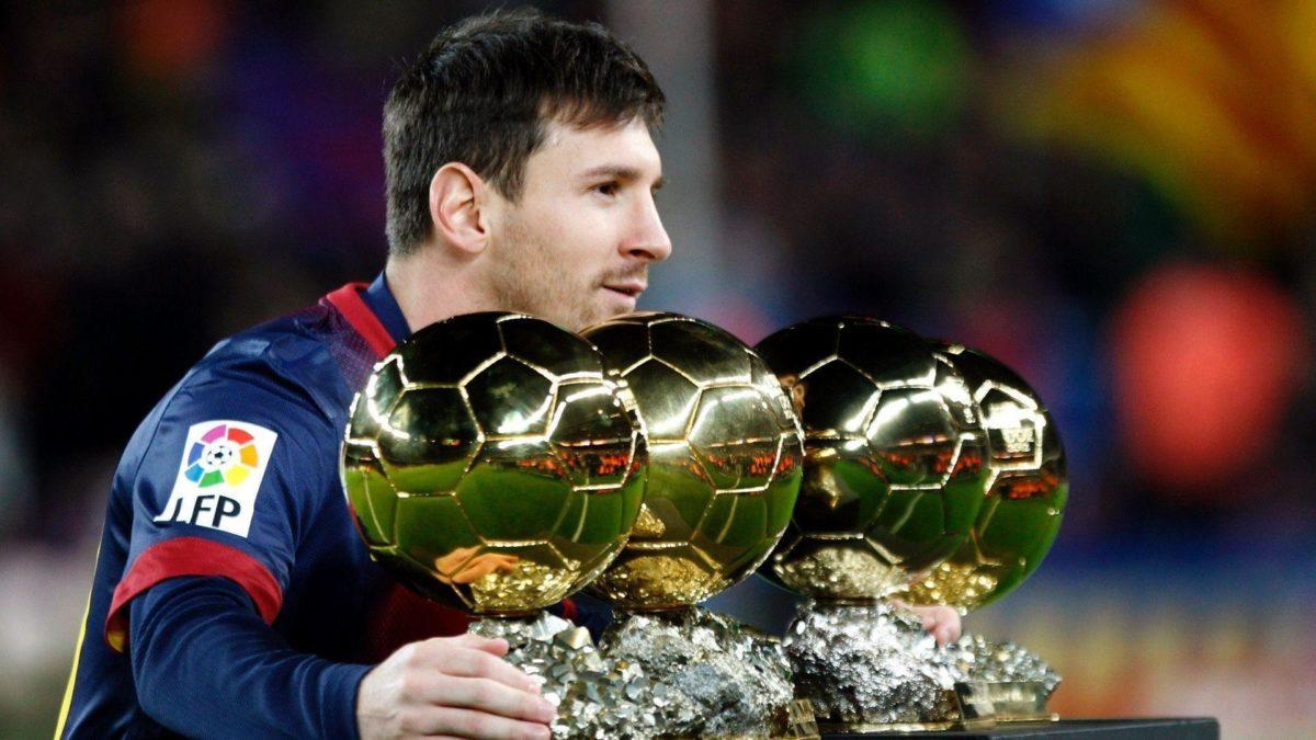 Lionel Messi Balon Dor – Wallpaper HD