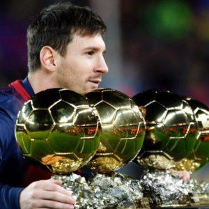 download Lionel Messi Balon Dor – Wallpaper HD