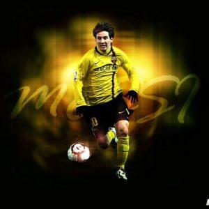 download Lionel Messi HD Wallpaper 2014 (yellow) – Football Wallpaper HD …