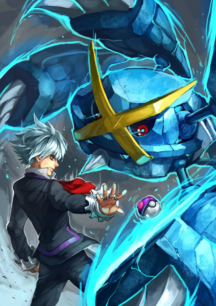 Pokemon : Steven and Mega Metagross by Sa-Dui | GaryOAK | Pinterest …
