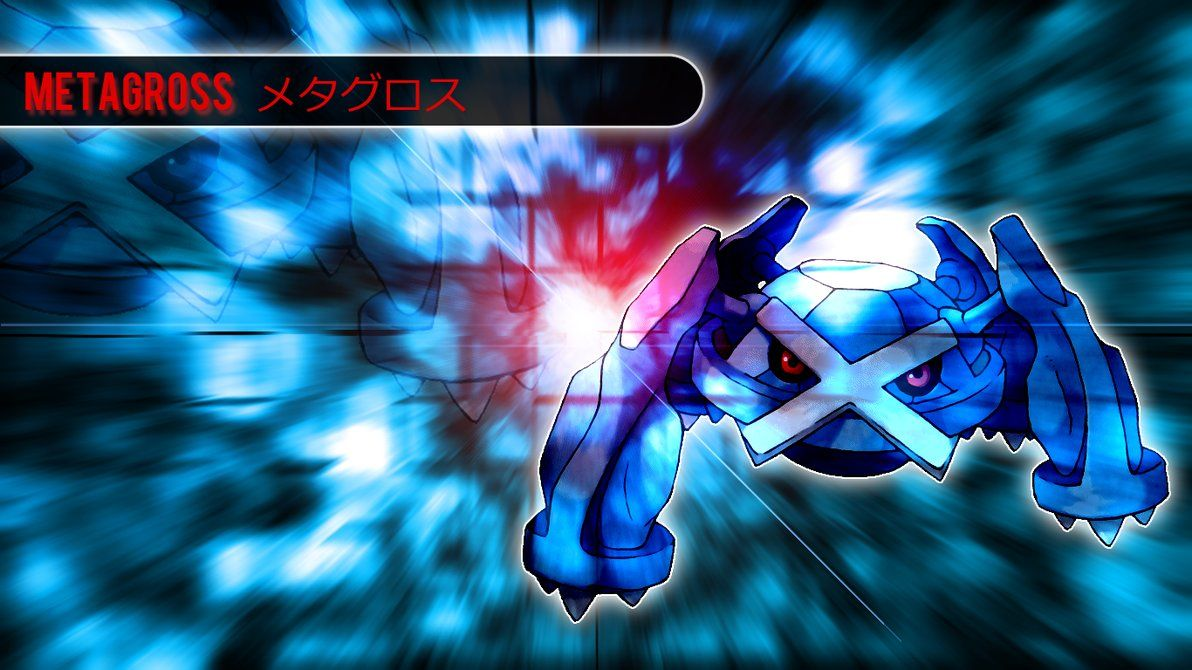 Pokemon – Metagross Wallpaper by Kniye on DeviantArt