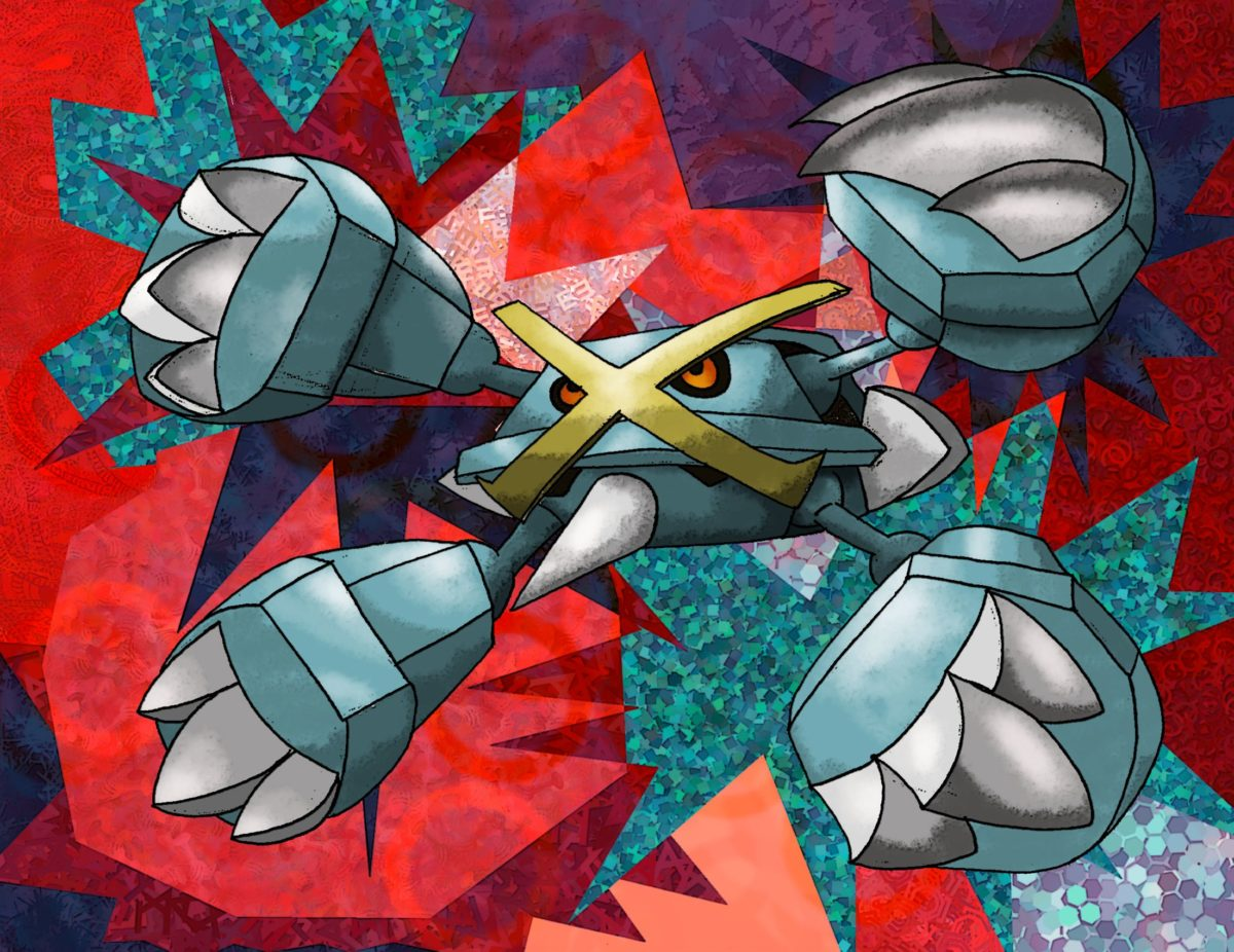Mega Metagross by Macuarrorro on DeviantArt