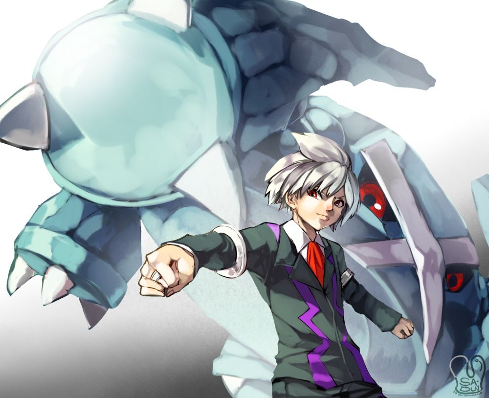 Wallpaper Pokemon, Metagross, Steven Stone – WallpaperMaiden