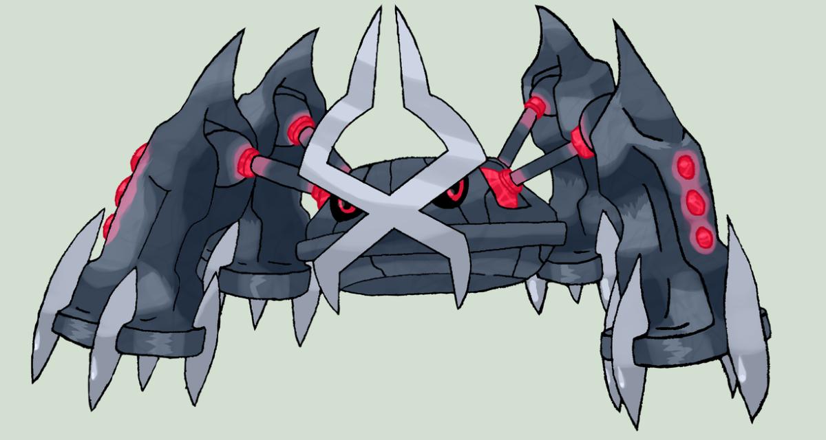 Image – Megametagross by darkface13-d6jm18h.png   Pokemon Arena X …