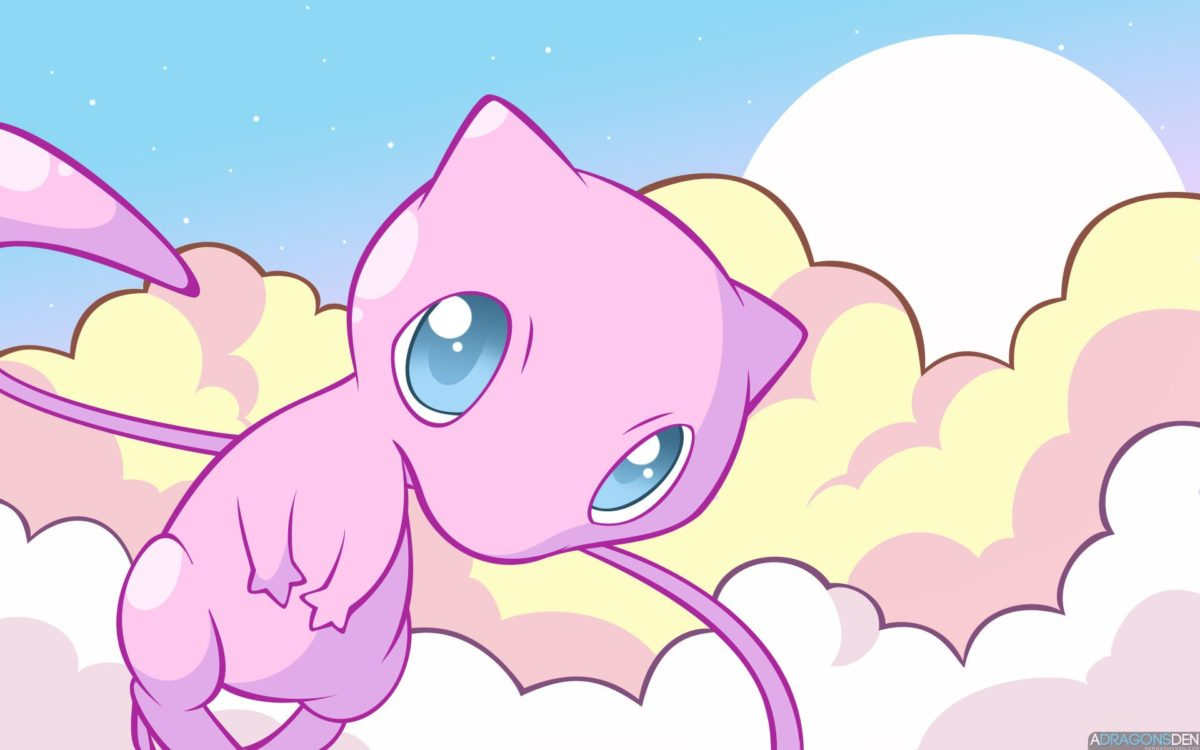 Mew the Pokemon images Mew in the Clouds HD wallpaper and …
